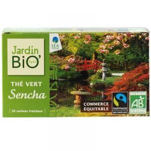 Thé vert Sencha, Jardin Bio (x 20)