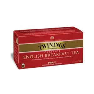 Thé English Breakfast, Twinings (25 sachets)