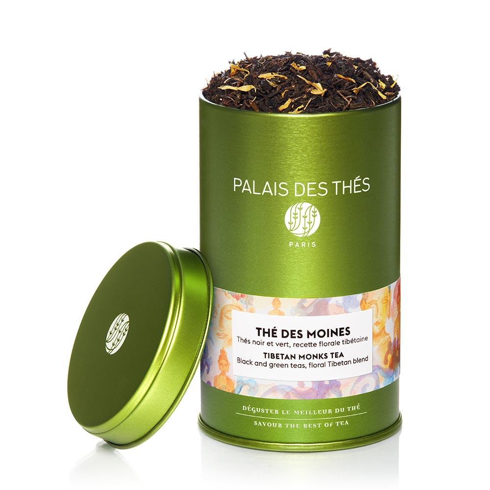 Thés noirs et verts des Moines, Palais des Thés (100 g)