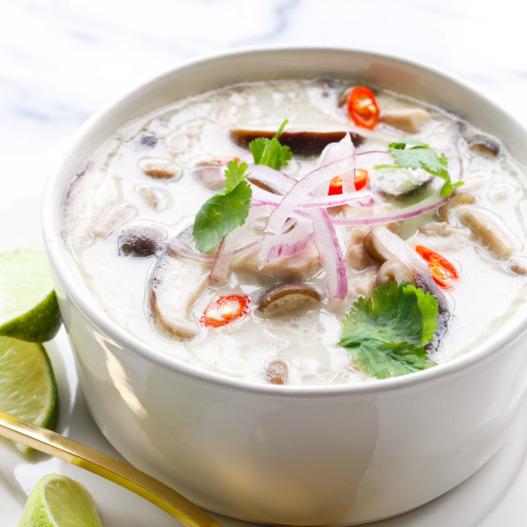 Thom kha kai, soupe de poulet thaïlandaise (300 g)