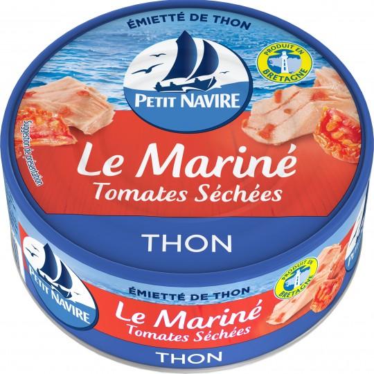 Thon Le Mariné tomate séchées, Petit Navire (110 g)