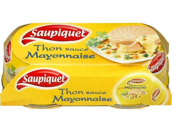 Thon Mayonnaise, Saupiquet LOT DE 2 (2 x 135 g)