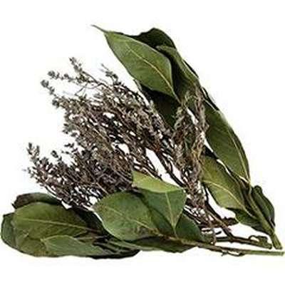Bouquet d'aromate thym laurier séché BIO