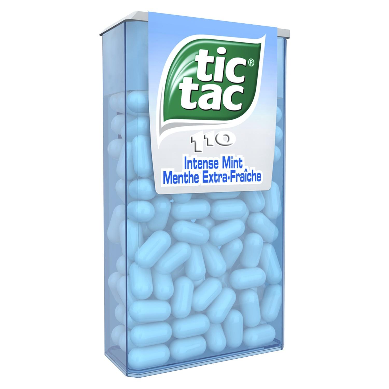 Tic Tac Menthe Extra Fraiche (étui de 110)