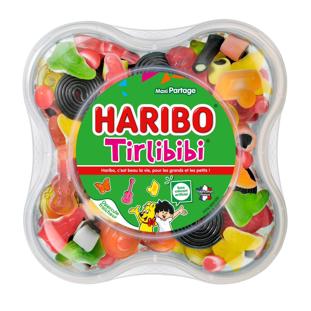 Bonbons Tirlibibi, Haribo (750 g)