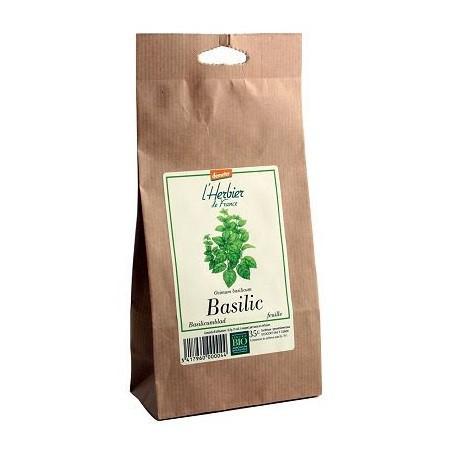 Basilic feuilles BIO, Herbier de France (35 g)