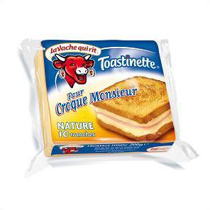 Toastinette pour croque Monsieur, Vache qui rit (x 10 tranches)
