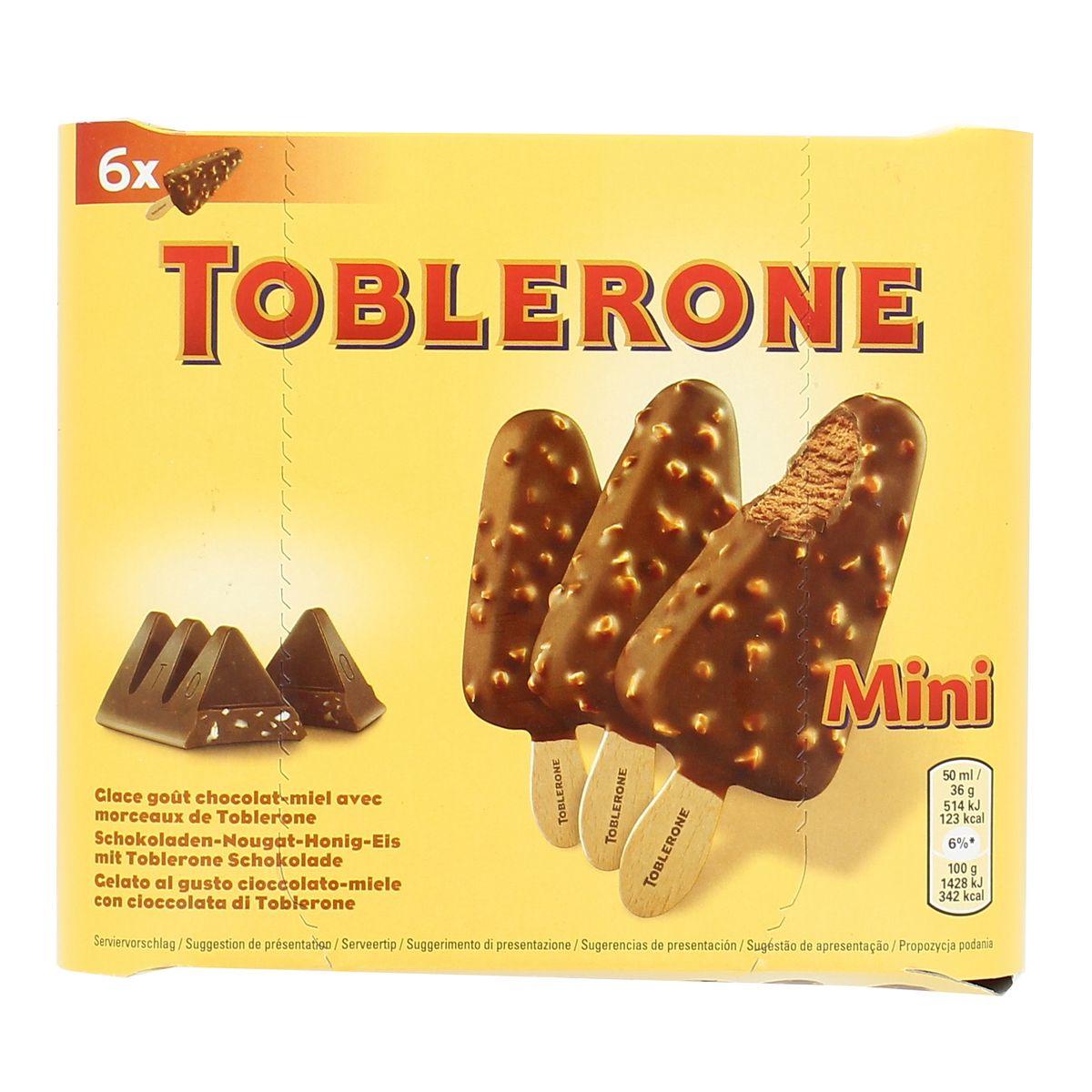 Mini bâtonnets Toblerone (x 6)