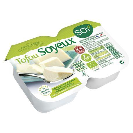 Tofu soyeux, Soy (2 x 120 g)