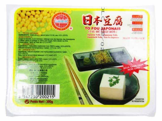 Tofu japonais, Lakovo (300 g)