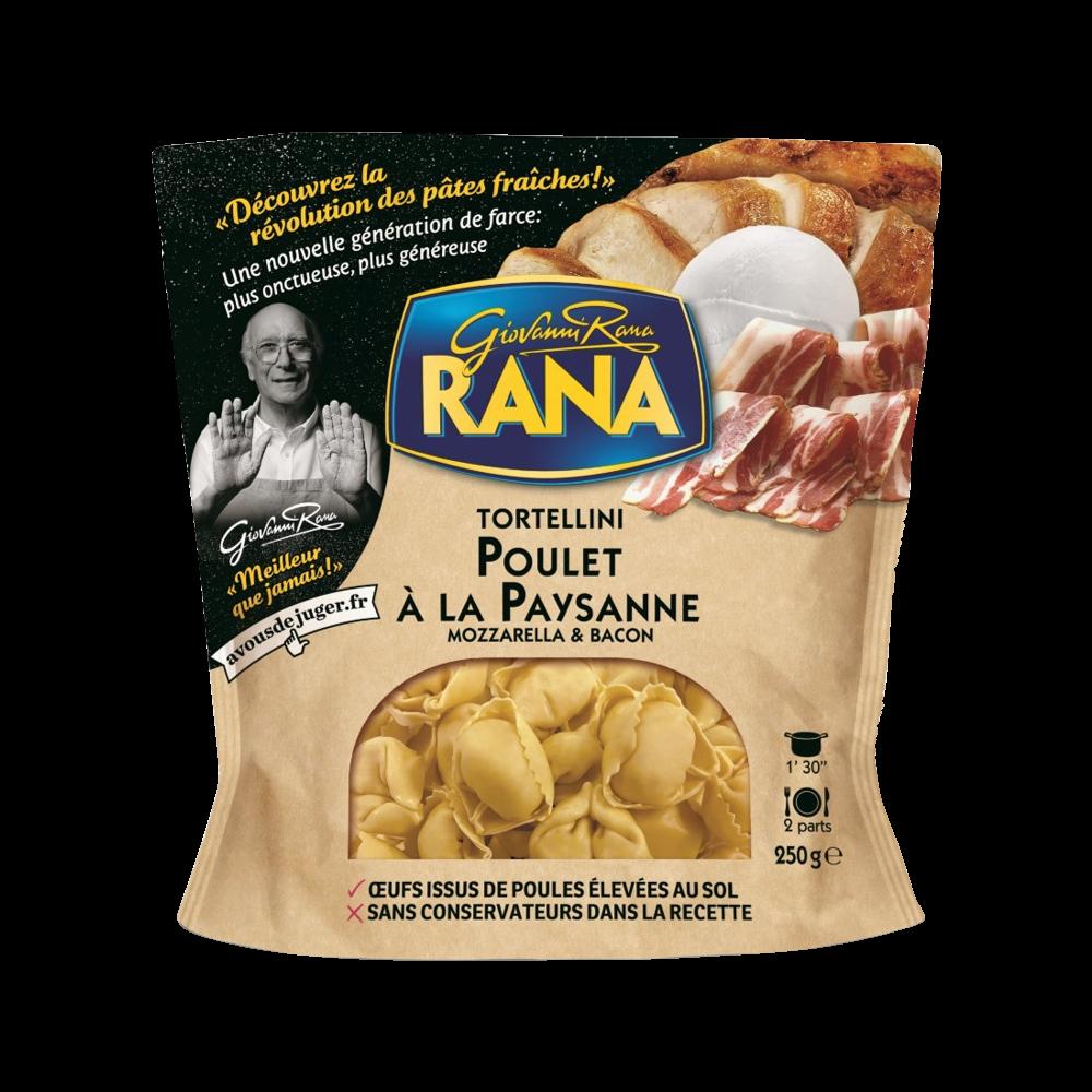 Tortellini poulet bacon, Giovanni Rana (250 g)