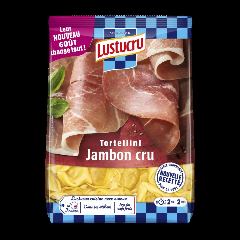 Tortellini jambon cru, Lustucru (250 g)