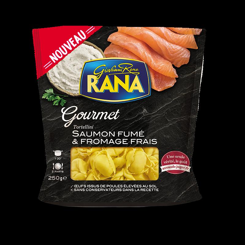 Tortellini saumon fumé et fromages frais, Giovanni Rana (250 g)