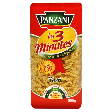 Torti 3 minutes, Panzani (500 g)