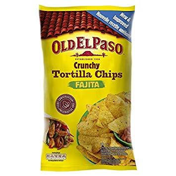 Tortilla chips crunchy Fajita, Old El Paso (185 g)
