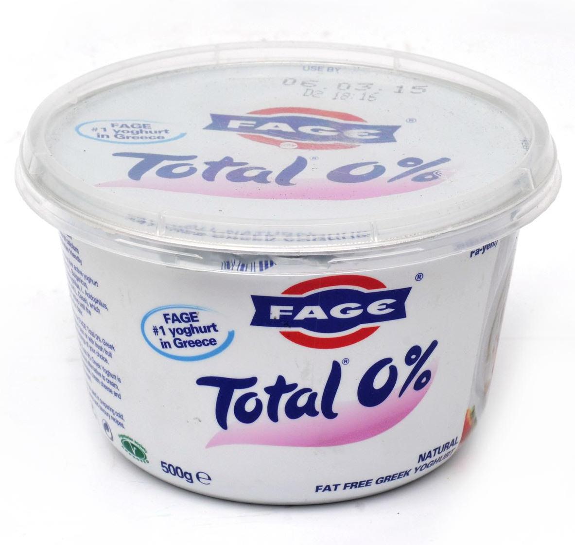 Yaourt à la grecque 0 %, Fage (500 g)