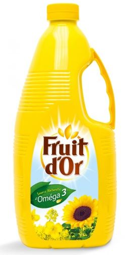 Huile de Tournesol, Fruit d'or (3 L)