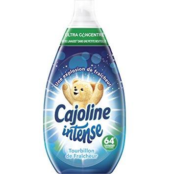 Adoucissant tourbillon de fraîcheur 64 lavages, Cajoline (960 ml)