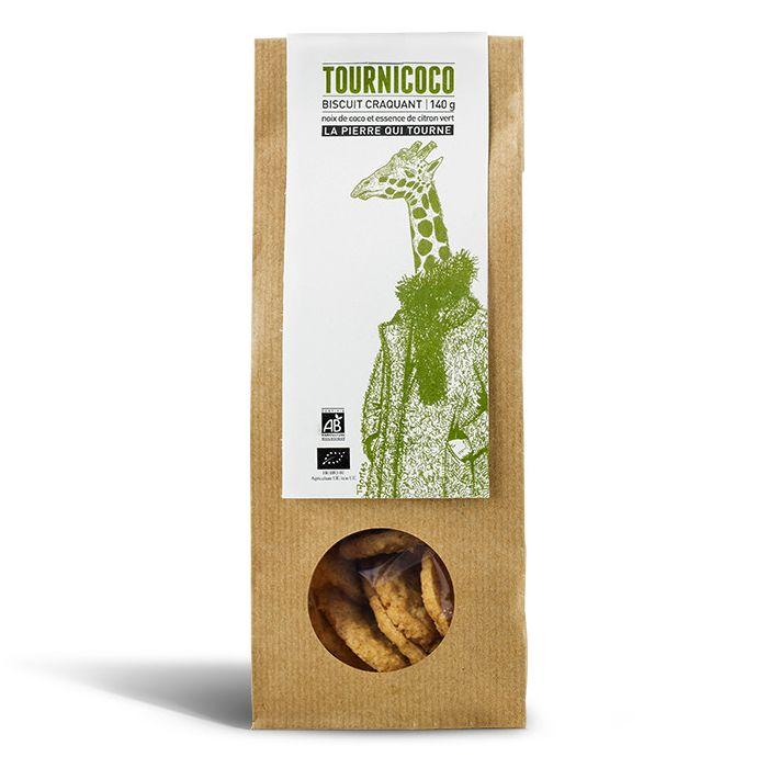 Biscuit craquant Tournicoco, La pierre qui tourne (120 g)