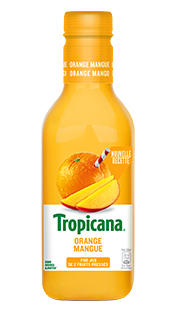 Jus d'orange/mangue frais, Tropicana (900 ml)