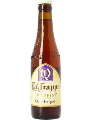 Bière ambrée La Trappe Quadrupel 10° (33 cl)
