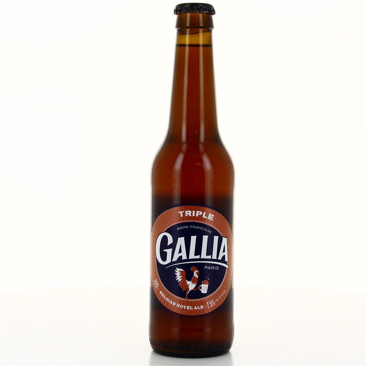 Triple Belgian Novel Ale, Gallia (33 cl)