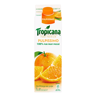 Jus d'orange pulpissimo frais, Tropicana (1 L)