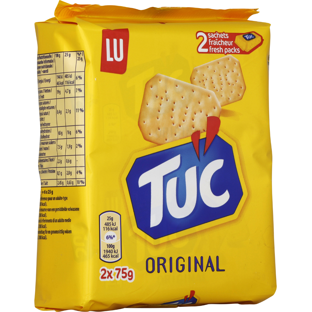 Crackers Tuc Original (2 x 75 g)