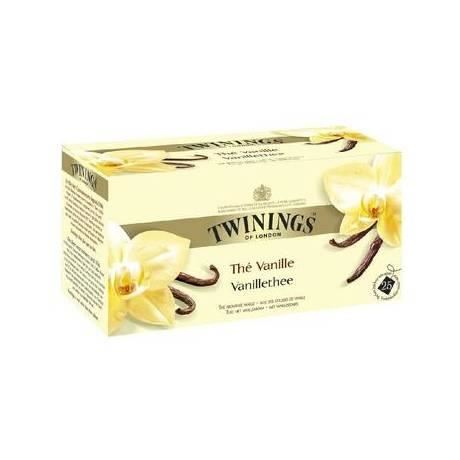 Thé Vanille, Twinings (25 sachets)