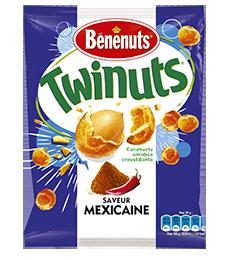 Twinuts saveur mexicaine, Bénenuts (150 g)