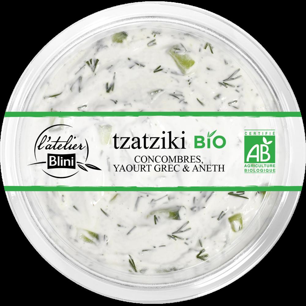 Tzatziki BIO, L'atelier Blini (160 g)