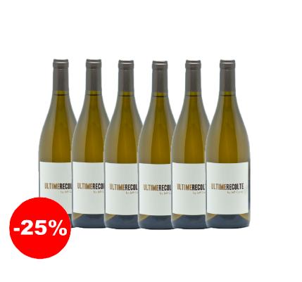 Ultime Récolte blanc 2018 - IGP Côtes Catalanes (75 cl, caisse de 6)