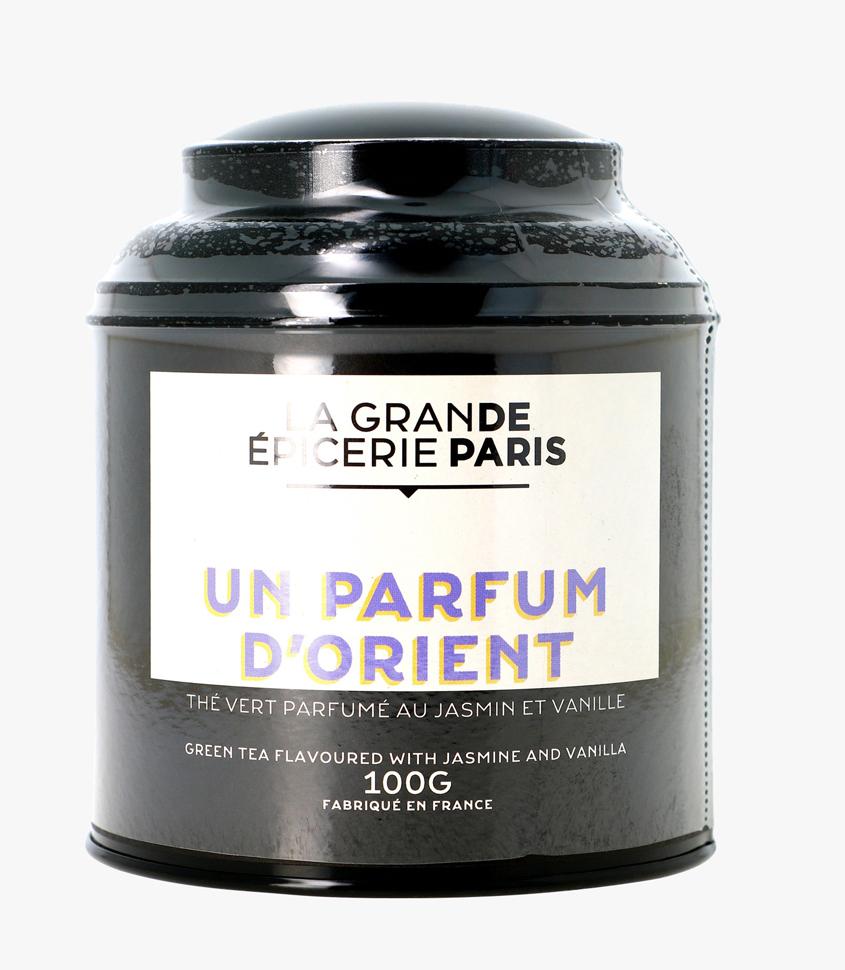 Un parfum d'Orient, thé vert au jasmin et vanille, La Grande Epicerie de Paris (100 g)