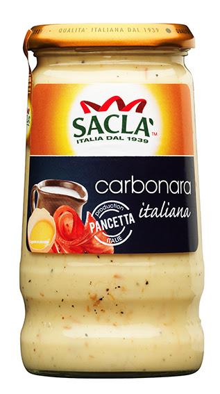Sauce carbonara Sacla (345 g)