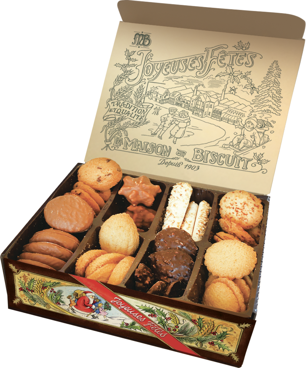 Assortiment Dégustation, La Maison du Biscuit (500 g)