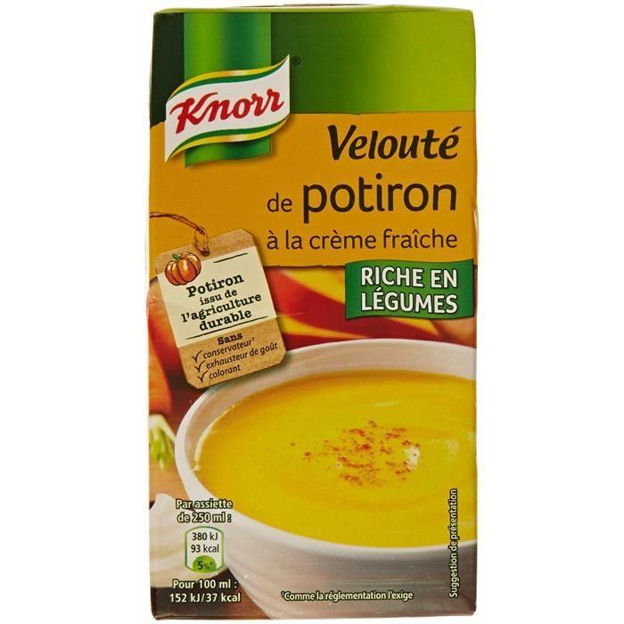 Velouté potiron, Knorr (50 cl)