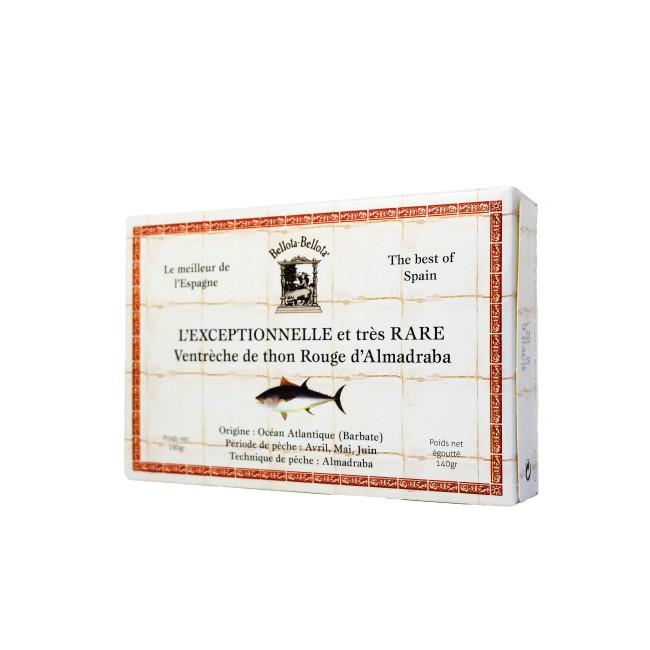 Ventrèche de thon rouge d'Almadraba extra tendre, Bellota-Bellota (190 g)