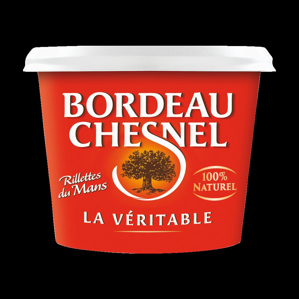 Véritable rillettes du Mans pur porc, Bordeau Chesnel (220 g)