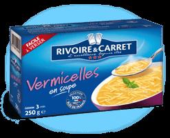 Vermicelles fins, Rivoire & Caret (250 g)