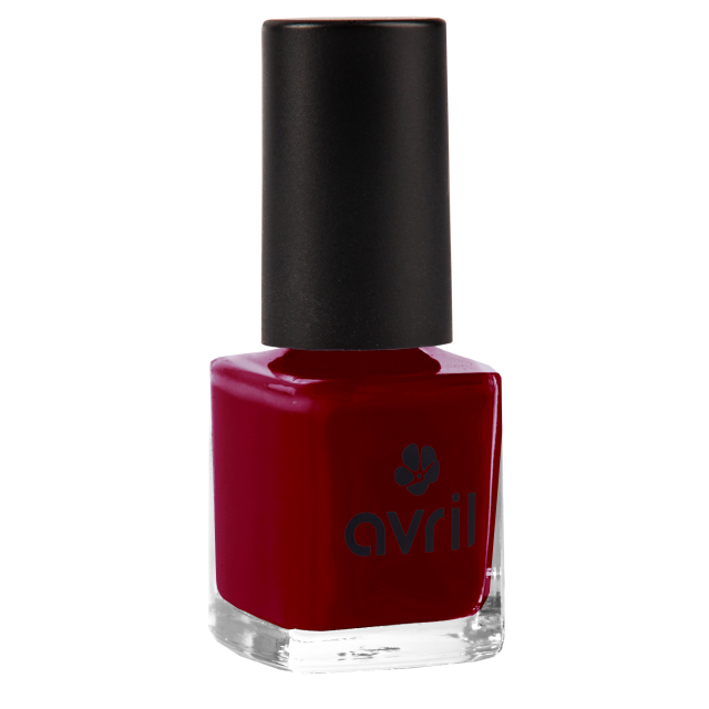 Vernis à ongles bordeaux n°671, Avril (7 ml)