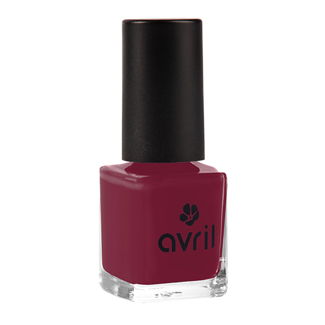 Vernis à ongles bourgogne n°26, Avril (7 ml)