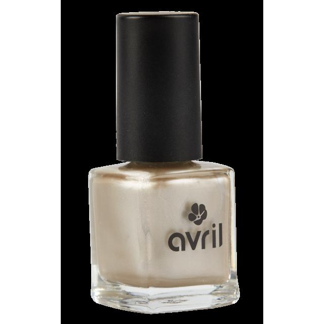 Vernis à ongles sable doré nacré n°06, Avril (7 ml)