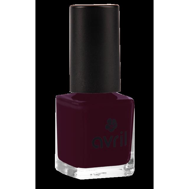 Vernis à ongles prune n°82, Avril (7 ml)