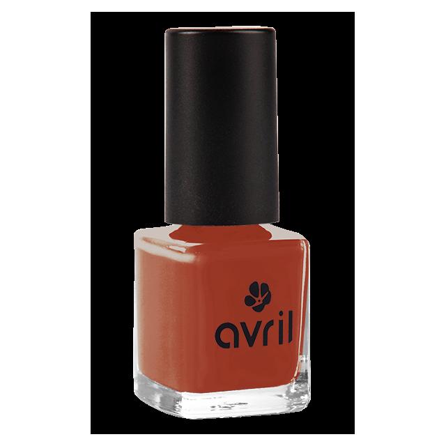 Vernis à ongles rouge brique n°863, Avril (7 ml)