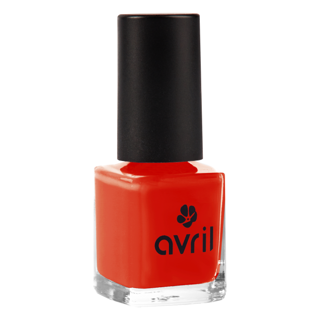 Vernis à ongles coquelicot n°40, Avril (7 ml)