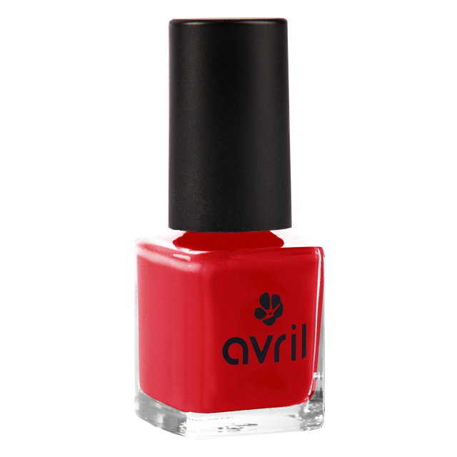 Vernis à ongles vermillon n°33, Avril (7 ml)