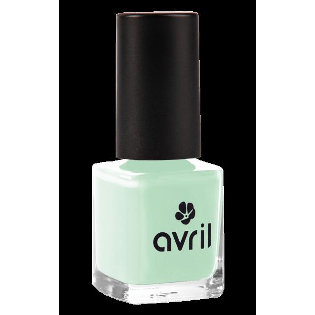 Vernis à ongles vert d'eau n°573, Avril (7 ml)