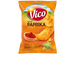 Chips Grill Paprika, Vico (120 g)