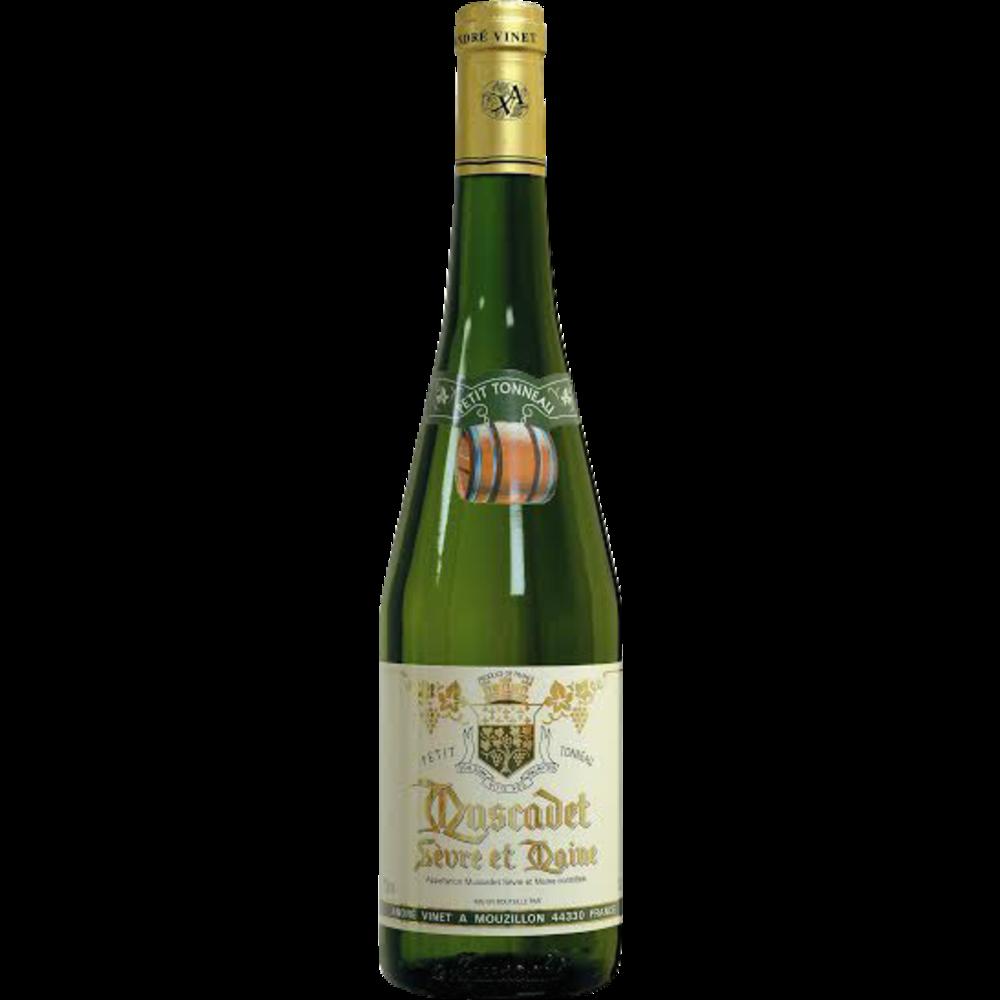 Vin blanc AOC Muscadet Petit Tonneau (75 cl)