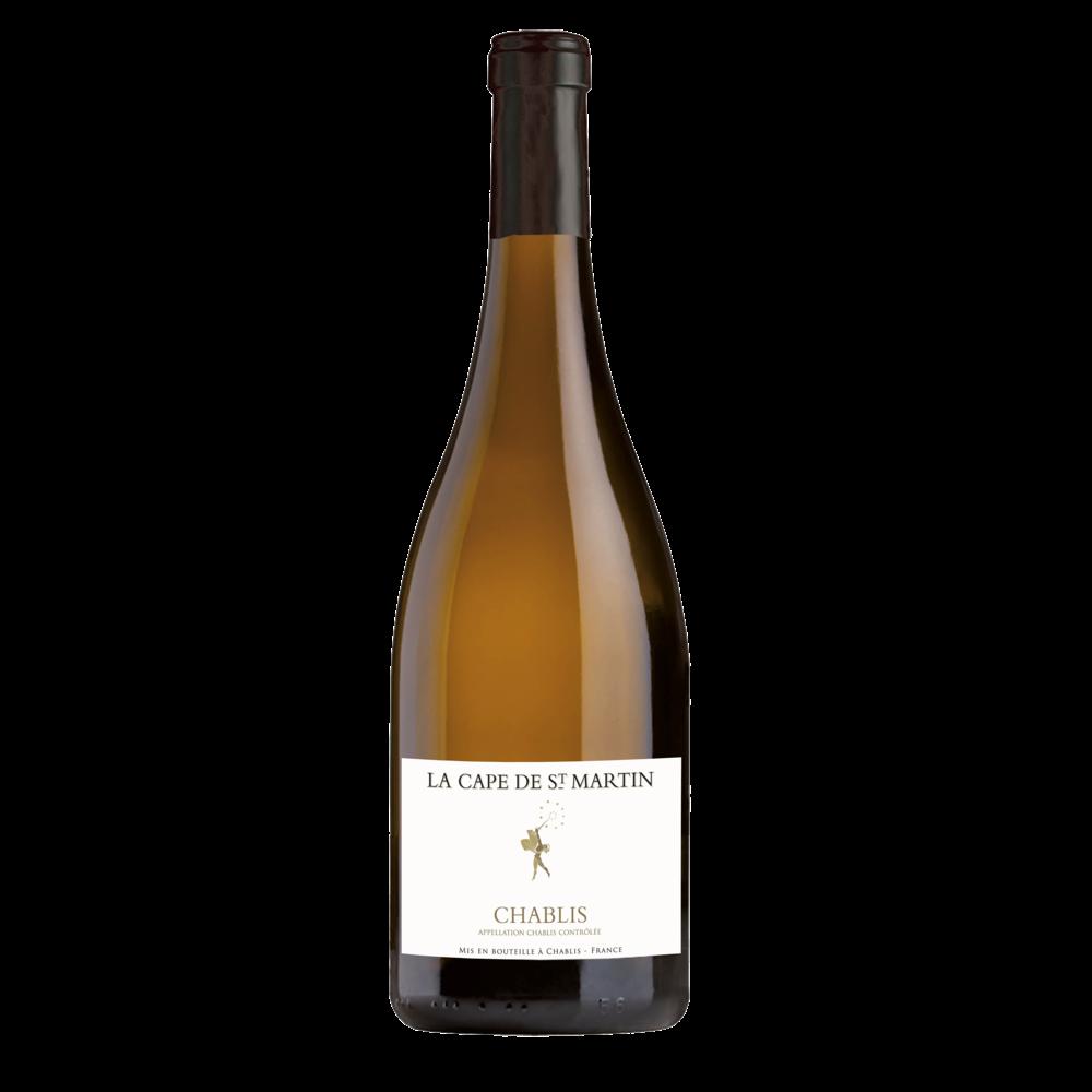 Vin blanc AOP CVT Chablis La Cape St Martin (75 cl)